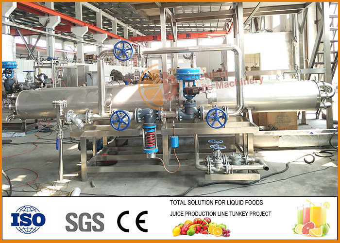 SUS304 10L/H Complete Plum Juice production line 1 Year Warranty