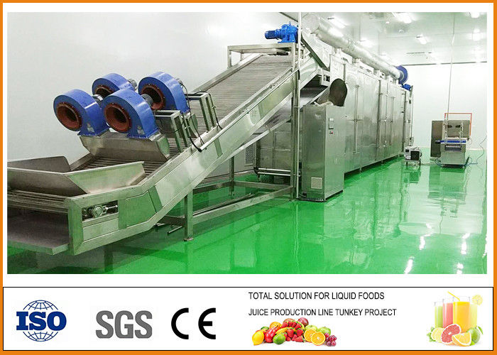 Turnkey Pear Dried Fruit Production Line ISO9001 Certification